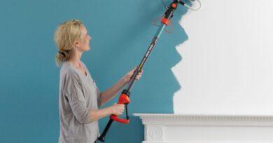 pintar paredes con un rodillo