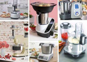 Robot de cocina - Procesador de alimentos: ¿Cuál elegir?