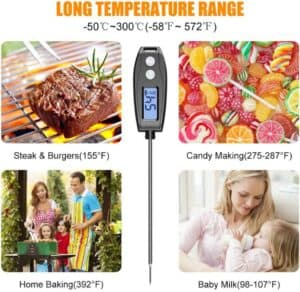 ¿Qué termómetro de cocina funciona mejor?