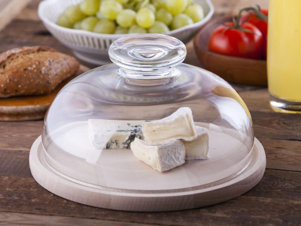 Tabla para quesos y embutidos con sombra
