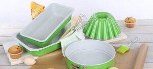 Moldes para hornear pasteles: tipos, sus ventajas y desventajas