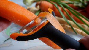 pelador de zanahorias